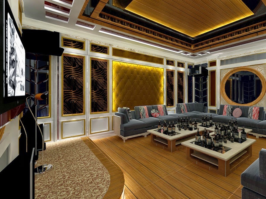 Thạch cao phòng karaoke 04