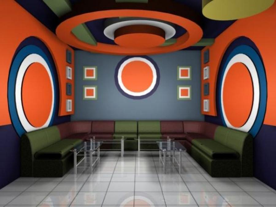 Thạch cao phòng karaoke 02